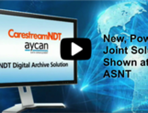 ayData and Carestream Demo Joint Solution at ASNT
